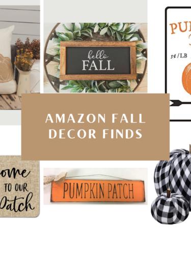 Amazon Fall Home Decor