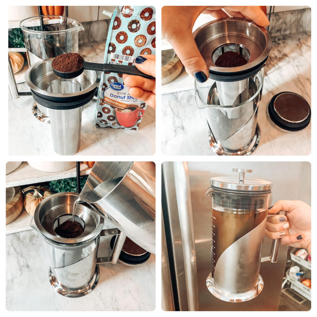 how to steps to bottle cold brew coffee